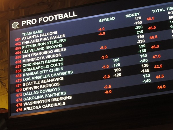 Is the online sports betting decline in route out